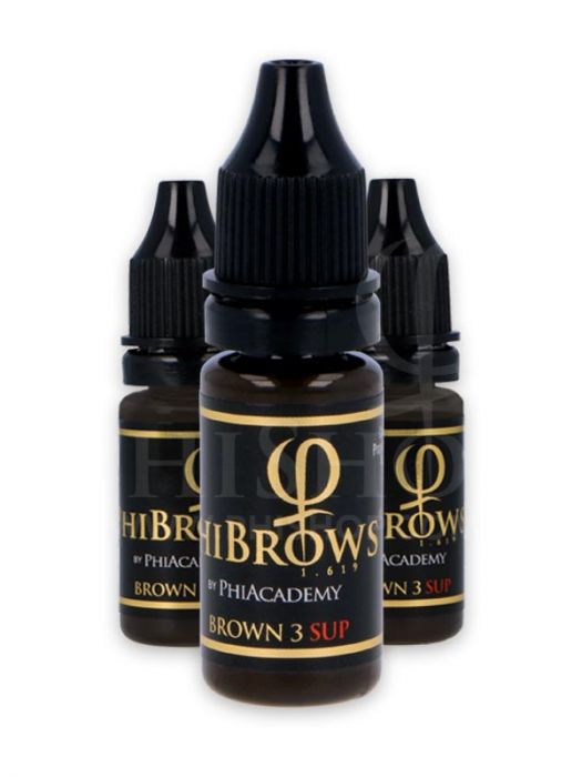 PHIBROWS BROWN 3 SUP PIGMENT 10ML