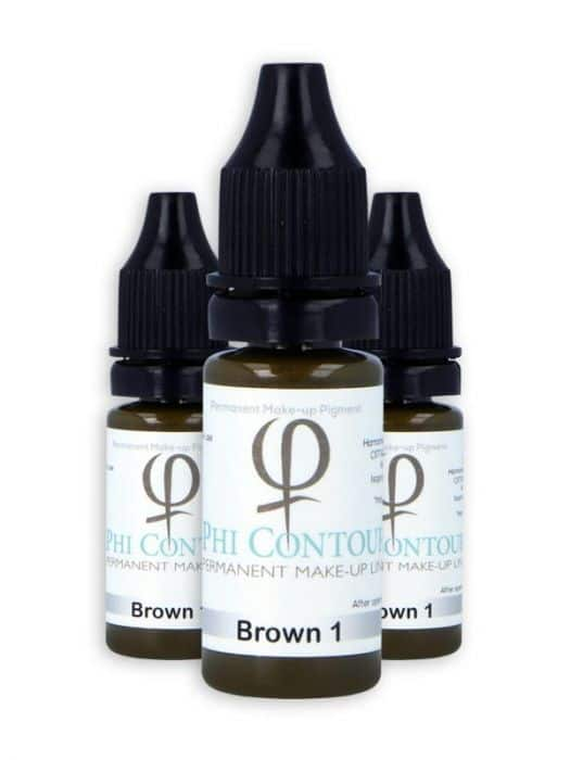 PHICONTOUR BROWN 1 PIGMENT 10ML
