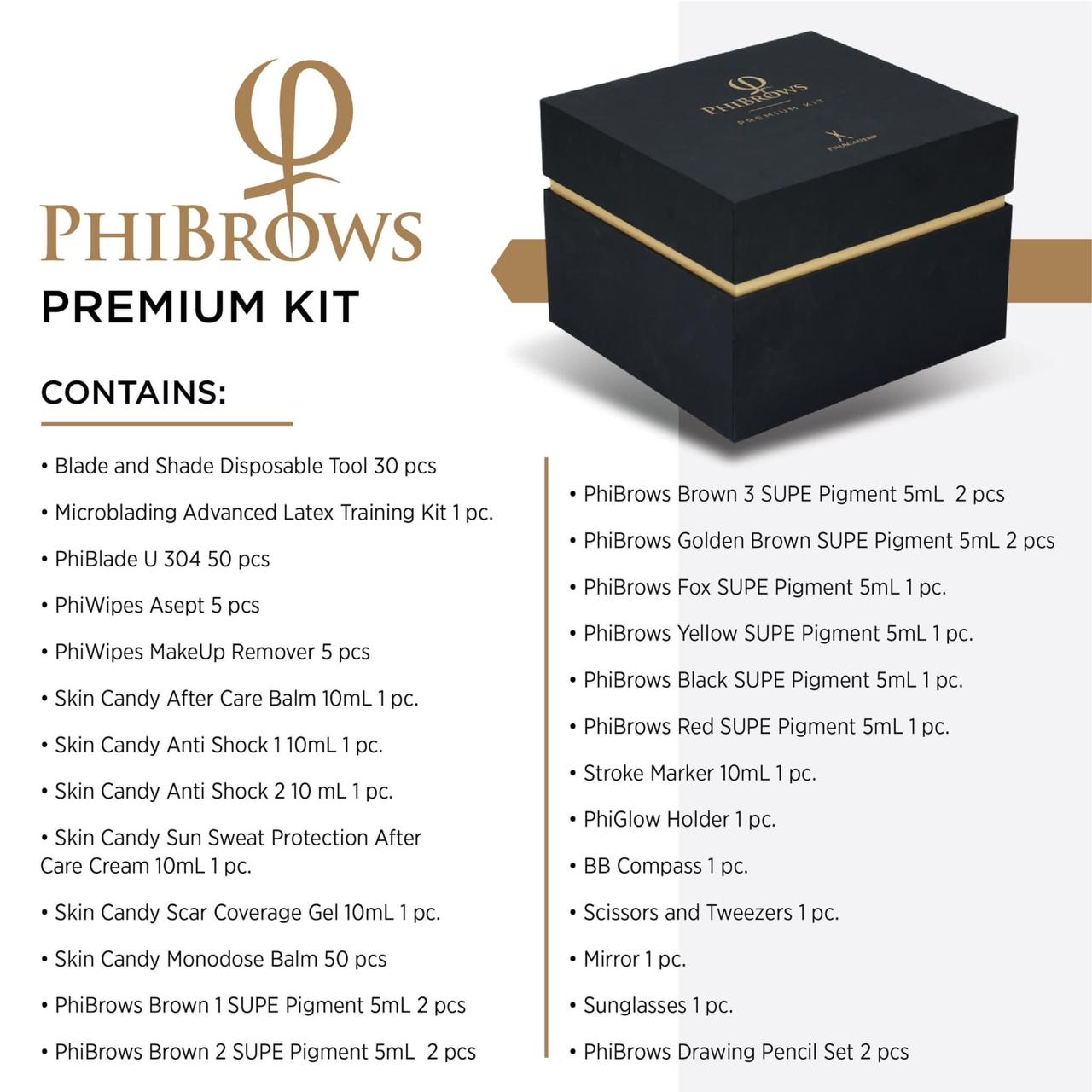 Phibrows Premium Kit