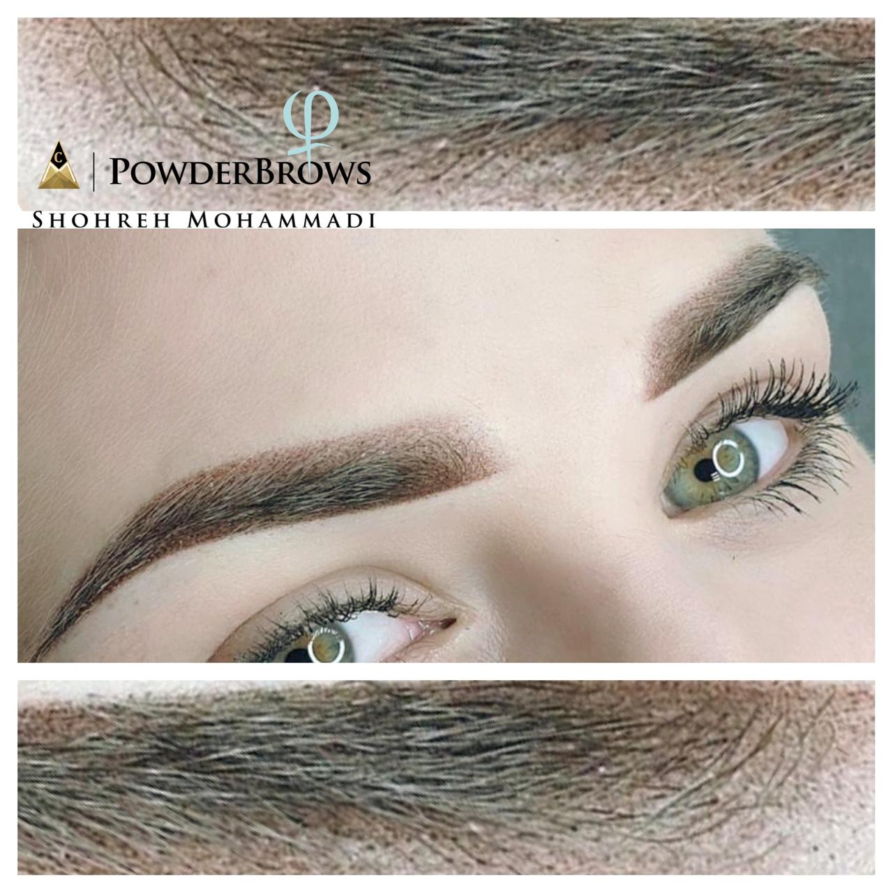 Powder Brows by Shohreh