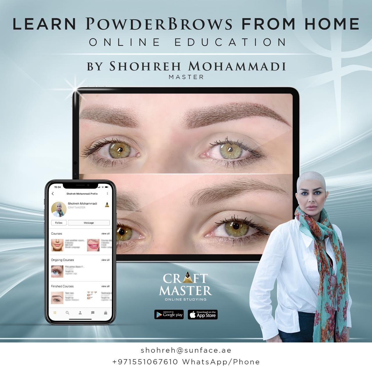 Powder Brows Online Course